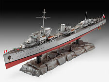 Revell - GERMAN DESTROYER TYPE 1936, Neu, OVP, Maßstab 1:350, 05141