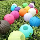 """10 pcs 4"""" 8"""" 12"""" 16"""" 20"""" colorful Chinese paper Lantern Wedding Party Decoration"""