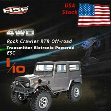 HSP 136100 Strong 4 Wheel Off-road 1/10 Model Electric Rock Crawler 2.4G Radio #