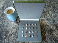 20 x Quality Miniature Neolithic Arrowheads in Display Case - 4000BC - (O031)
