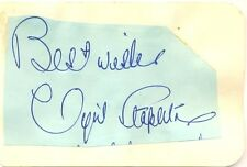 Cyril Stapleton signed autograph album page 1950s English violinist/bandleader