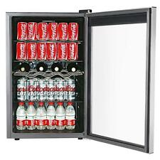 Refrigerator Wine Cooler Mini Beverage Chiller Small Fridge 150 Can Soda Beer