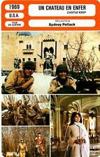 FICHE CINEMA : UN CHATEAU EN ENFER - Lancaster,O'Neal,Pollack 1969 Castle Keep
