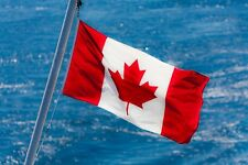 Maple Leaf Canadian Flag New Polyester Banner Large Outdoor