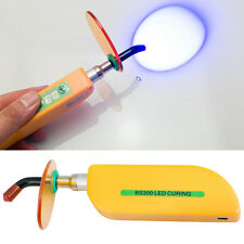 Dental Wireless Cordless LED Cure Curing Light Lamp 1500mw for Dentist Orange