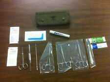 OD Military Emergency Field Surgical Kit / Surgery Kit Sealed In Plastic