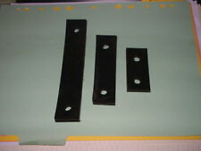 UNIVERSAL Exhaust Mounting Rubber Strap 3 Pieces classic car strip!