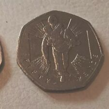 RARE 50P FIFTY PENCE COIN VICTORIA CROSS Wounded Soldier Not Left Behind Uk VC