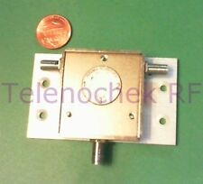 RF microwave single junction circulator 866 MHz CF/  274 MHz BW/  25 Watt/ data