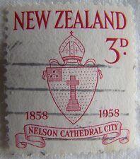 New Zealand Stamp 1958 Scott 322 A129a  Nelson
