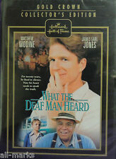 """Hallmark Hall of Fame """"What The Deaf Man Heard""""  DVD - New & Sealed"""