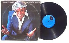 HORACE SILVER: Silver N Brass LP BLUE NOTE RECORDS BNLA406G US 1975 NM-