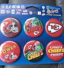 Wincraft Sports NFL Kansas City Chiefs 6 Pins Set