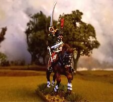 28mm Napoleonic French Hussar 7th regiment trooper PAINTED Perry Miniatures.