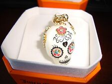 NEW JUICY COUTURE LTD ED 2013 SUGAR SKULL CHARM FOR BRACELET NECKLACE OR HANDBAG