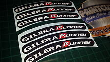 Gilera Runner Rim tape Wheel stickers EXCLUSIVE 50, 125. 172, 180 183 sp vx st G