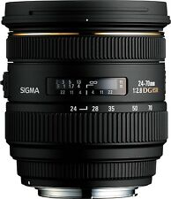 Sigma 24-70mm f2.8 IF EX DG HSM - Canon Fit