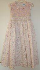 Boutique Brand Luli & Me Floral Smocked Bodice Dress ~ Girl's Size 6 ~ Pretty