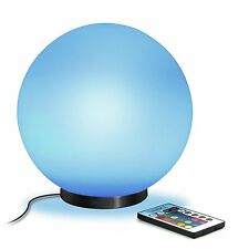 """ENHANCE Color Changing Childrens 5.9"""" LED Mood Lamp M Night Light with 4 Modes &"""