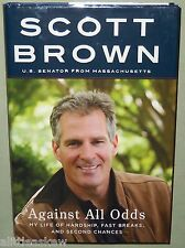 AGAINST ALL ODDS Scott Brown SIGNED Book US Republican Senator Massachusetts