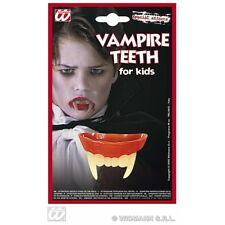 DENTI Vampiro Bambino Taglia Per Dracula Halloween Fancy Dress