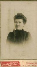 Photo ancienne portrait de femme  avant 1900