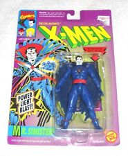 Marvel X-Men - Mr. Sinister (BLACK cape & YES beard) - MOC 100% (TOY BIZ)