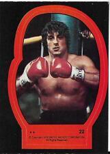 1979 Topps Rocky II Sticker #22 Rocky Balboa   Stallone   Italian Stallion