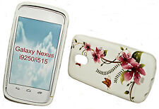 Design no. 5 Silicone TPU Cover Case + Pellicola Protettiva Display Samsung Galaxy Nexus