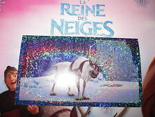 PANINI DISNEY FROZEN LA REINE DES NEIGES AUTOCOLLANT STICKER N° 87 brillant NEUF