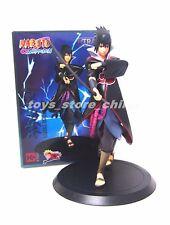 Anime Naruto Shippuden Uchiha Sasuke Toy Figure Figurine Doll New In Box