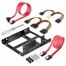 Inateck 2x 2.5 Inch SSD - 3.5 Inch Internal Hard Disk Drive Mounting Kit Bracket