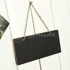 Children's Mini Small Blackboard Wedding Wooden Hanging Blackboards Chalkboards