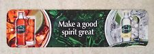 Britvic Fruit Juice Mixers Rubber Backed Bar Runner Pub Home Bar Man Cave Used