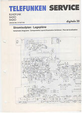 Service Manual Telefunken Rundfunk Radio Digitale 20 (124)