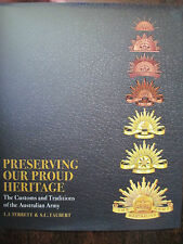Australian Army Book Preserving Our Proud Military Heritage Customs Traditions