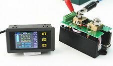 DC 120V 100A Multifunction Voltmeter Ammeter Power Meter Capacity Coulomb Time