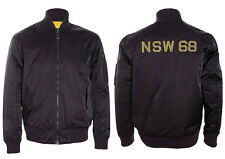 NIKE SPORTSWEAR NSW REVERSIBLE DESTROYER JACKET XL BLACK YELLOW 443877 010 MA-1