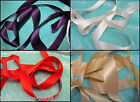 5 Metres Of Double Sided Satin Ribbon 25 mm For £2.50...5 Colours Free UK Post
