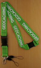 Geocaching Lanyard - Secure And Quick Access for GPS Receivers, Phones, Etc