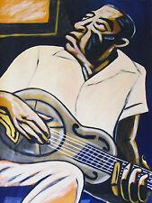 BUKKA WHITE PRINT poster mississippi delta blues steel guitar cd bottleneck