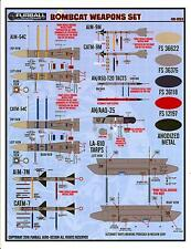 Furball Decals 1/48 GRUMMAN F-14 TOMCAT BOMBCAT WEAPONS SET