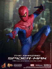 "Hot Toys The Amazing Spider-Man 12"" Figure Peter Parker Sealed in shipper"