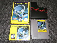 CASTELIAN - NINTENDO NES GAME BOXED & COMPLETE WITH MANUAL