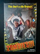 Zombies!!! Director's Cut - Horror Strategy Adventure Board Game = NEW SEALED =