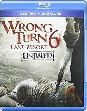 Wrong Turn 6: Last Resort (2014, REGION A Blu-ray New)