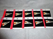 CLEVELAND BROWNS PIN HELMET LOGO PENNANT PIN NEW NFL FOOTBALL PIN SET OF 10