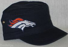 Denver Broncos Cotton Twill Corps Hat ⚡CAP ⚡CLASSIC NFL PATCH/LOGO ⚡NEW ⚡COOL