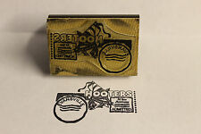 Hooters Hootie Owl Birthday Party Boy 20th Anniversary Rubber Collectible Stamp