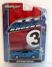 GREENLIGHT ROAD RACERS 2010 DODGE CHALLENGER SERIES 3 BLUE #1833